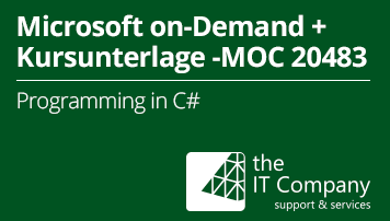 Microsoft on Demand Training 20483 - Mit Kursunterlage: Programming in C# (90 Day) - von the IT Company GmbH - quofox