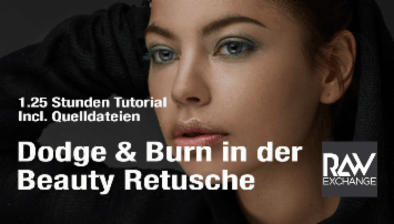 Bildbearbeitung - Dodge & Burn in der Beauty Retusche  - from RAWexchange.de Kamerakind GbR - quofox