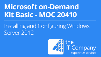 Microsoft on Demand Kit Basic 20410 – Installing an Configuring Windows Server 2012 (90 Day) - from the IT Company GmbH - quofox