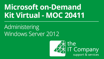 Microsoft on Demand Kit Virtual 20411 – Administering Windows Server 2012 (90 Day) - from the IT Company GmbH - quofox