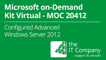 Microsoft on Demand Kit Virtual 20412 – Configuring Advanced Windows Server 2012 (90 Day) - from the IT Company GmbH - quofox