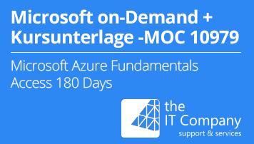 Microsoft on Demand Training 10979 - Mit Kursunterlage: Microsoft
