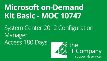 Microsoft on Demand Kit Basic 10747 – Administering System Center 2012 Configuration Manager (180 Day) - from the IT Company GmbH - quofox