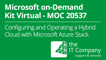 Microsoft on Demand Kit Virtual 20537 - Configuring and Operating a Hybrid Cloud with Microsoft Azure Stack (90 Day) - from the IT Company GmbH - quofox
