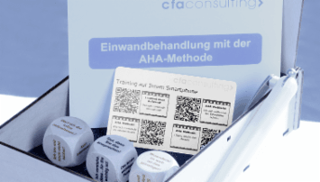 Die AHA Trainingsbox - from cfaconsulting - quofox