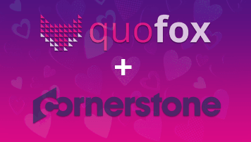 quofox goes Cornerstone - of quofox GmbH - quofox